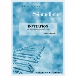 INVITATION (Baryton Euphonium)
